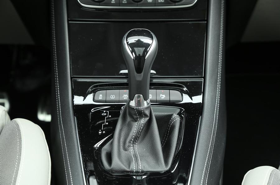Vauxhall Grandland X automatic gearbox