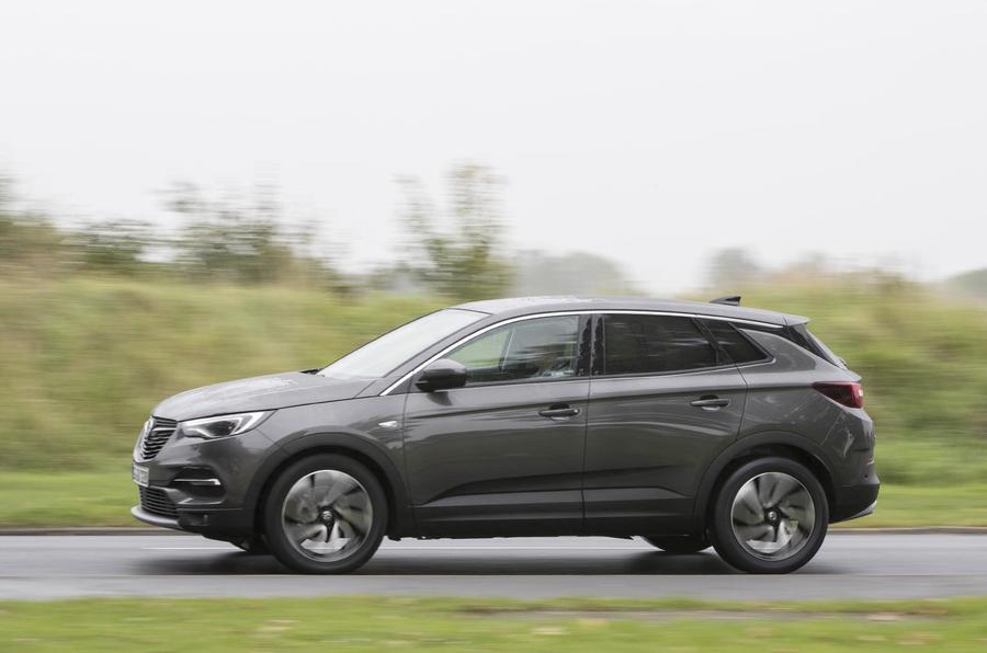 Vauxhall Grandland X side profile