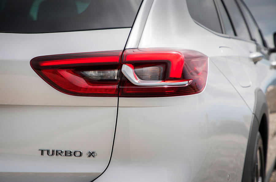 Vauxhall Insignia Country Tourer rear lights