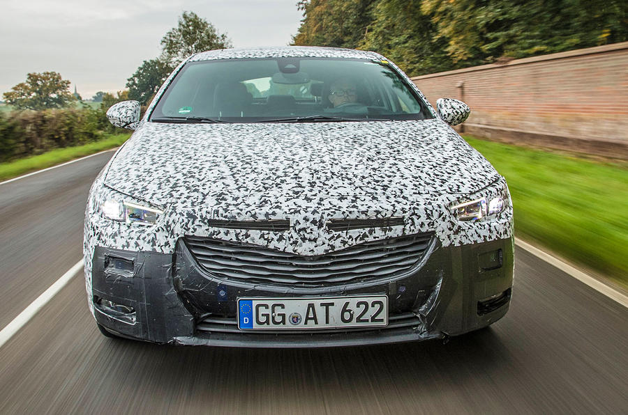 2017 Vauxhall Insignia prototype first drive