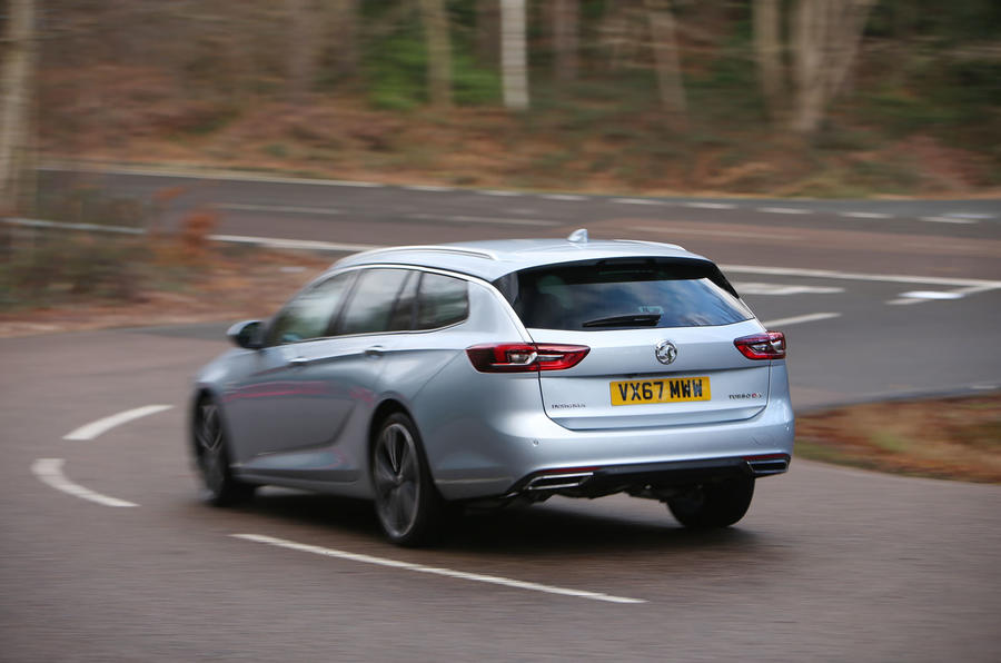 Vauxhall Insignia Sports Tourer longterm review rear