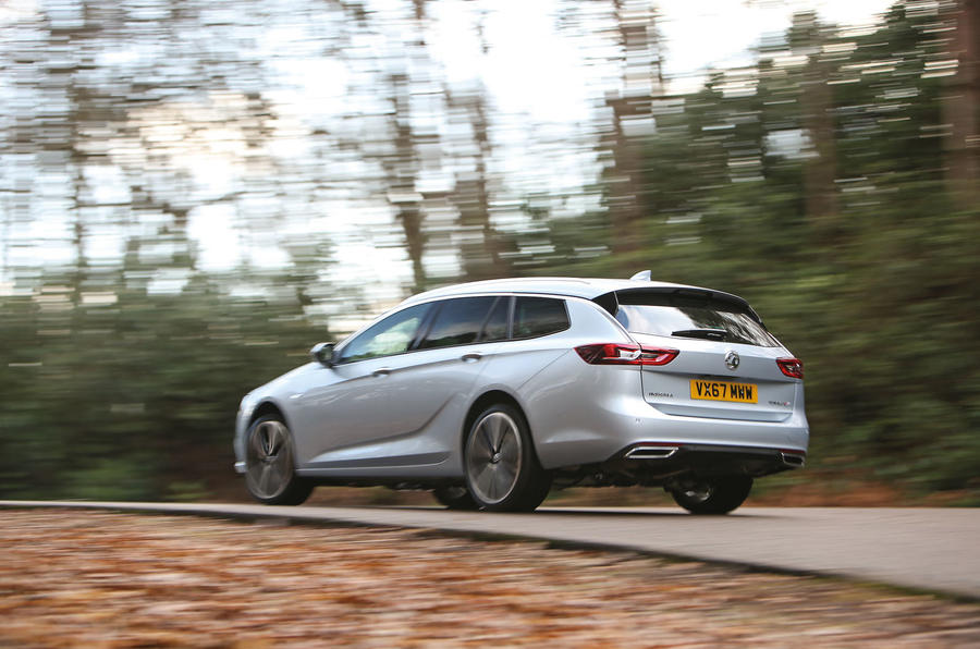 Vauxhall Insignia Sports Tourer longterm review action