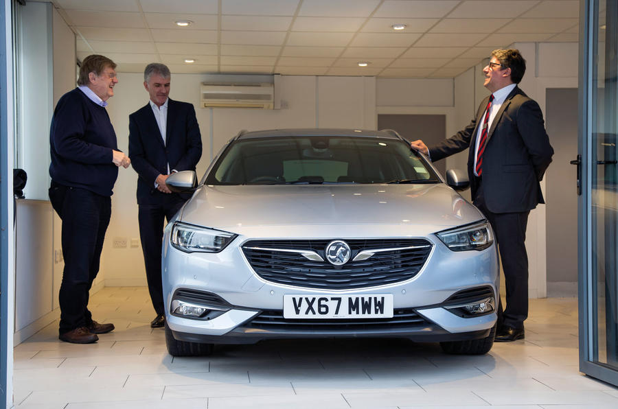 Vauxhall Insignia Sports Tourer longterm review handover