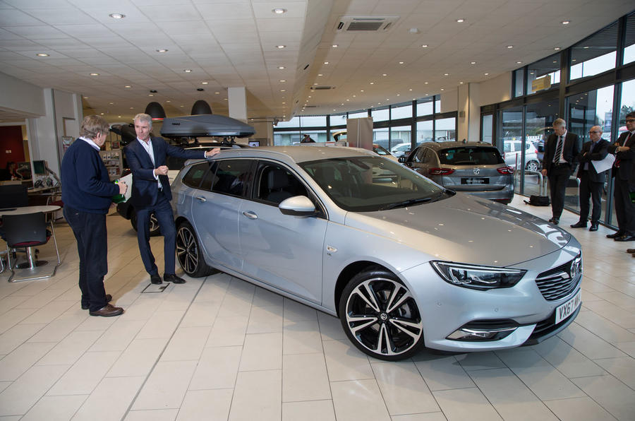 Vauxhall Insignia Sports Tourer longterm review handover keys