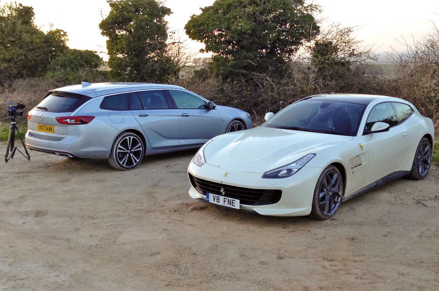 Vauxhall Insignia Sports Touring longterm review Ferrari