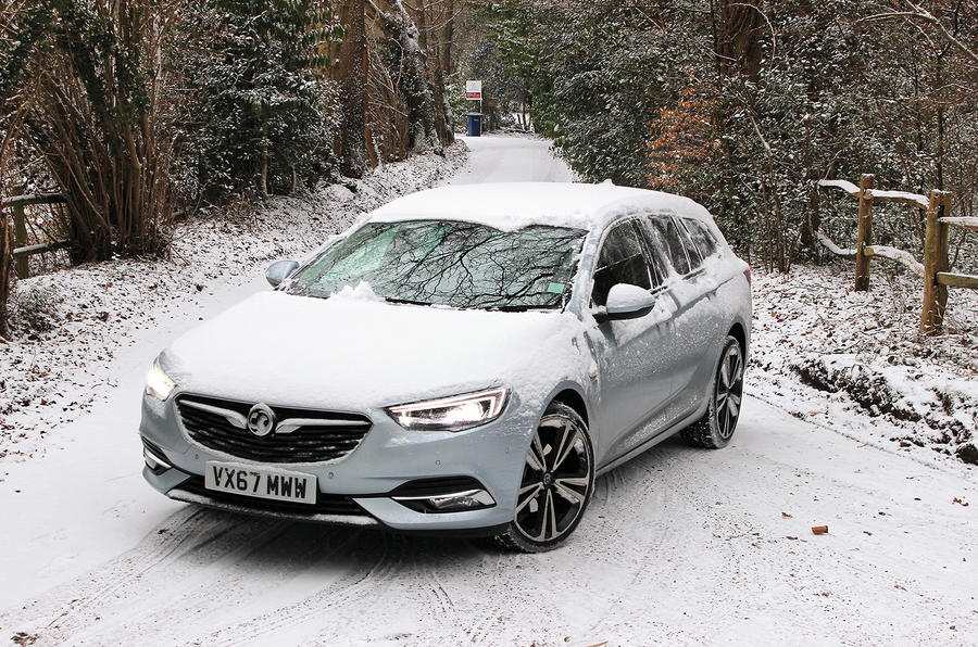 Vauxhall Insignia Sports Touring longterm review snow
