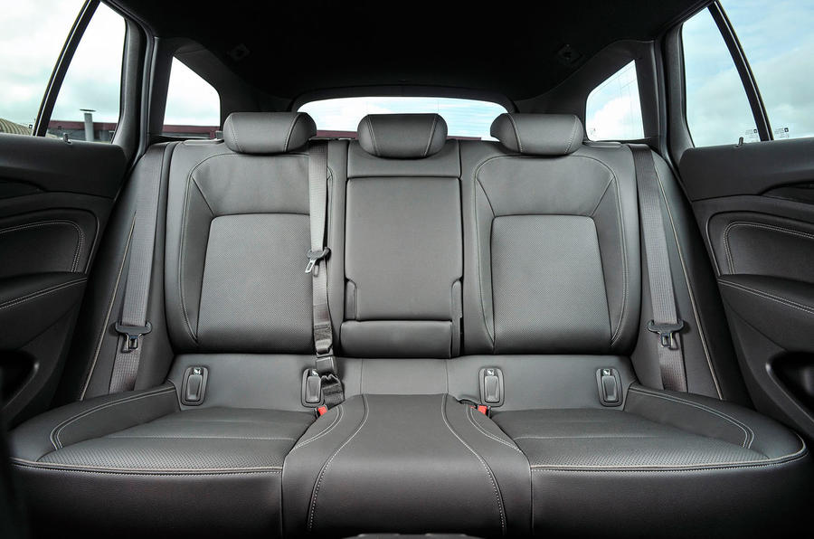 Vauxhall Insignia Sports Tourer rear seats