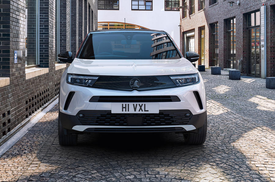 2020 Vauxhall Mokka - front