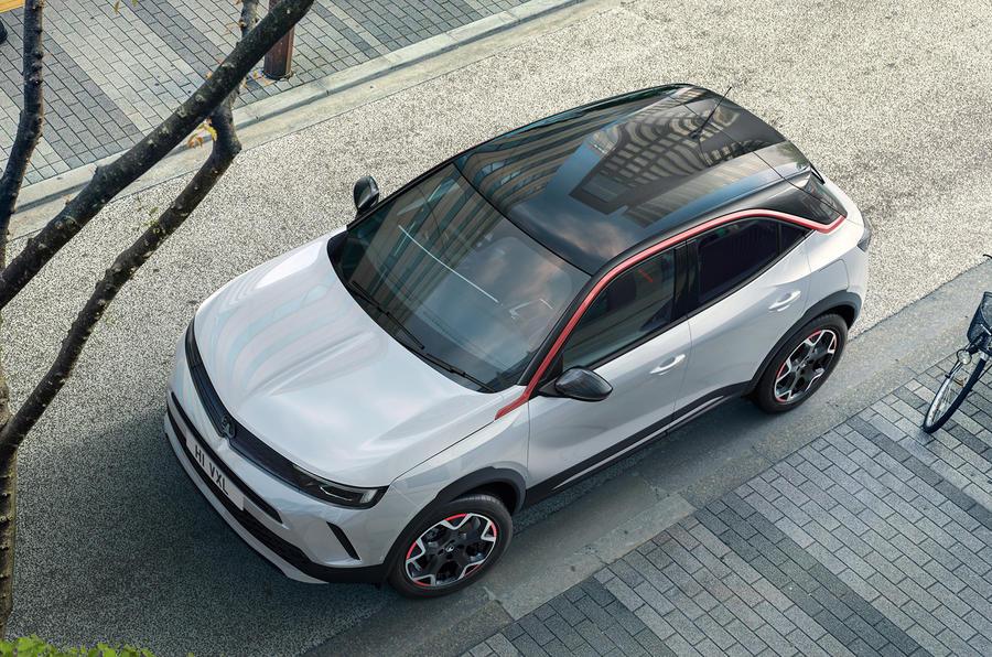 2020 Vauxhall Mokka - roof