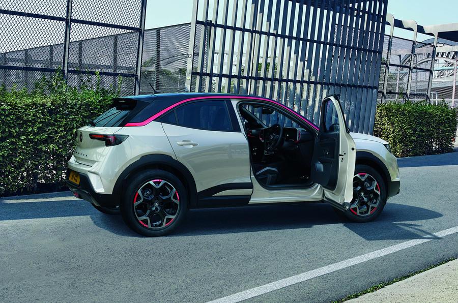 2020 Vauxhall Mokka - side