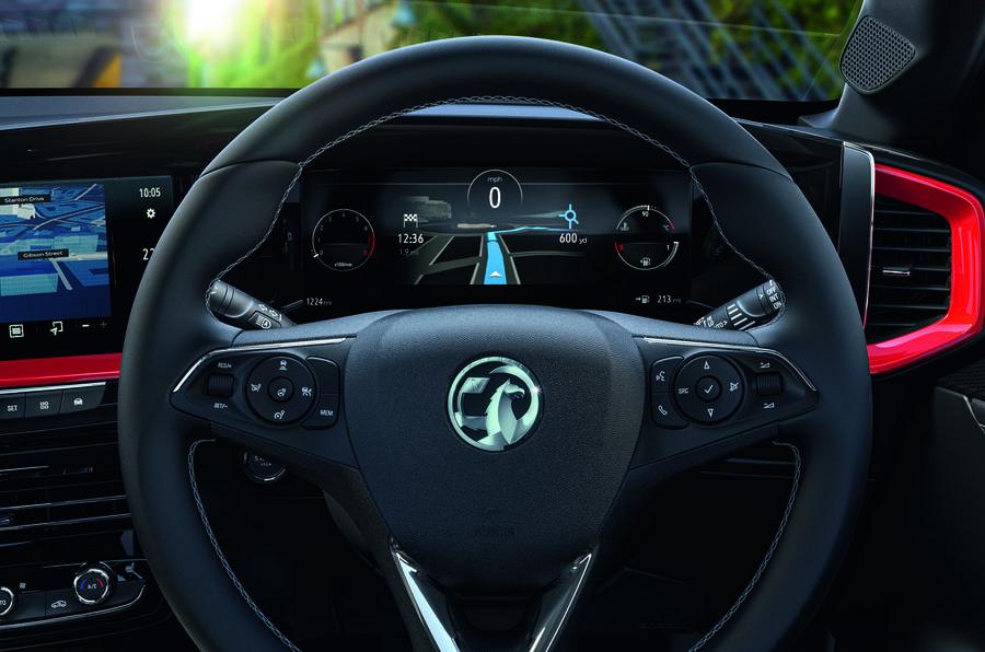 2020 Vauxhall Mokka - steering wheel