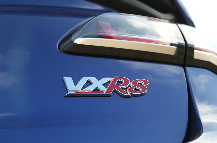 Vauxhall VXR8 GTS-R rear badging