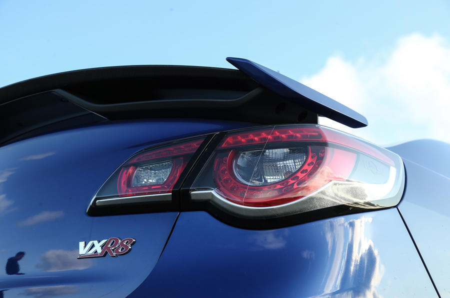 Vauxhall VXR8 GTS-R rear lights