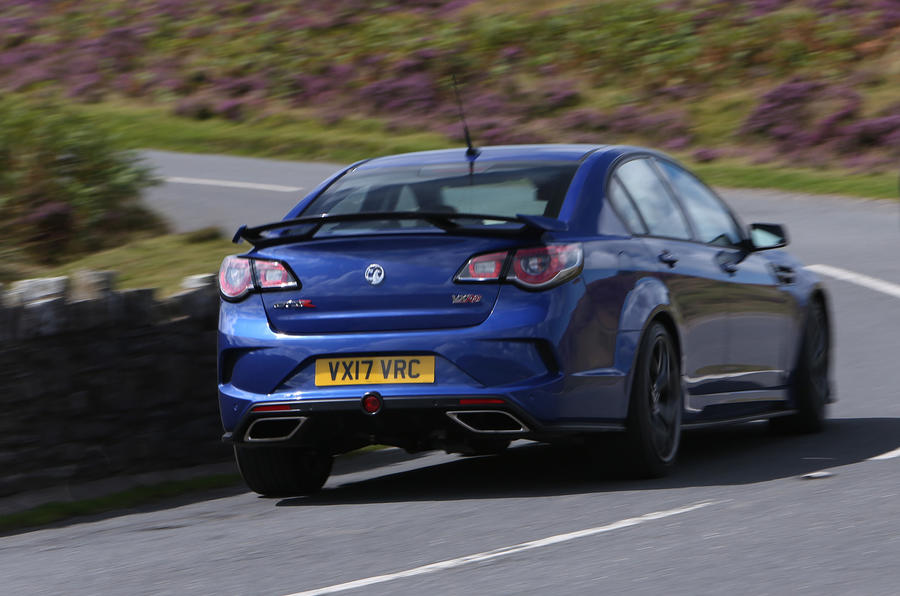 Vauxhall VXR8 GTS-R rear