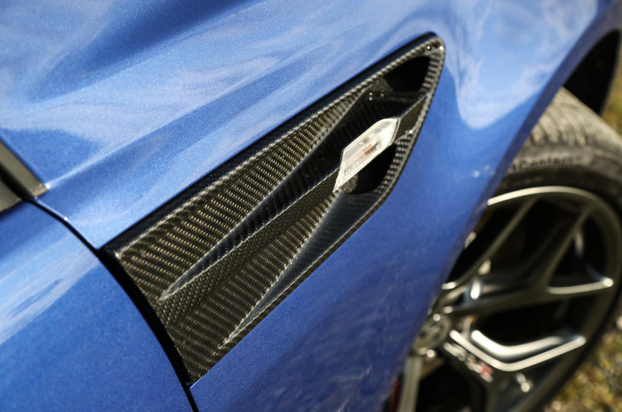 Vauxhall VXR8 GTS-R side vents