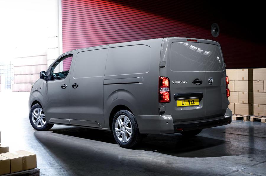 2020 Vauxhall Vivaro-e reveal