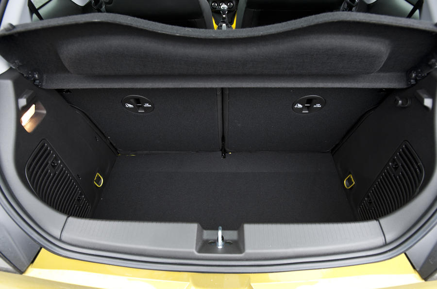 Vauxhall Adam Rocks Air boot space