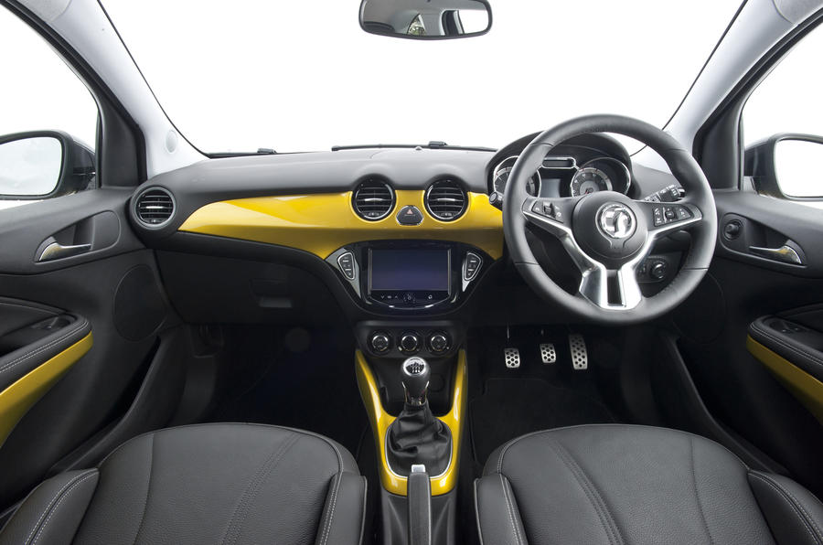 Vauxhall Adam Rocks Air dashboard