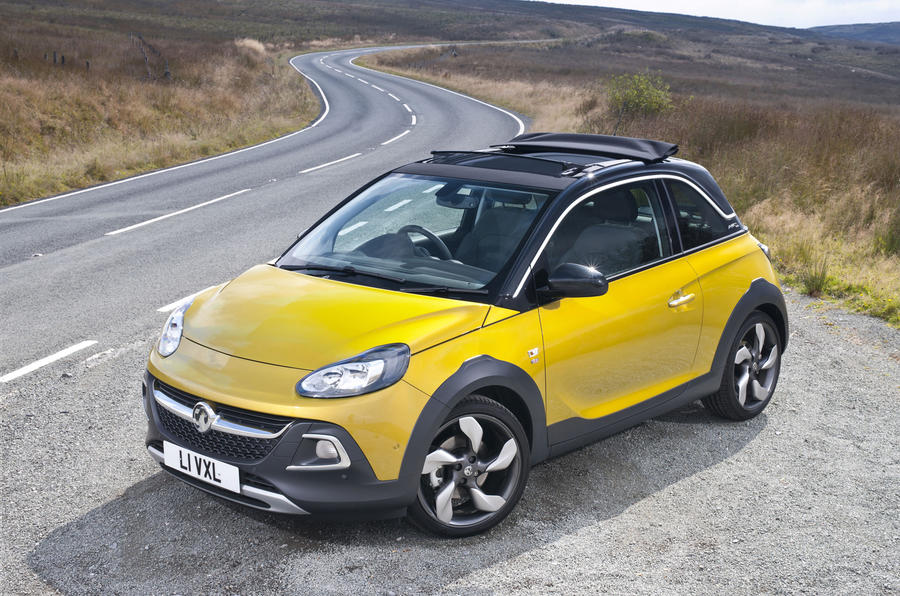 3.5 star Vauxhall Adam Rocks Air