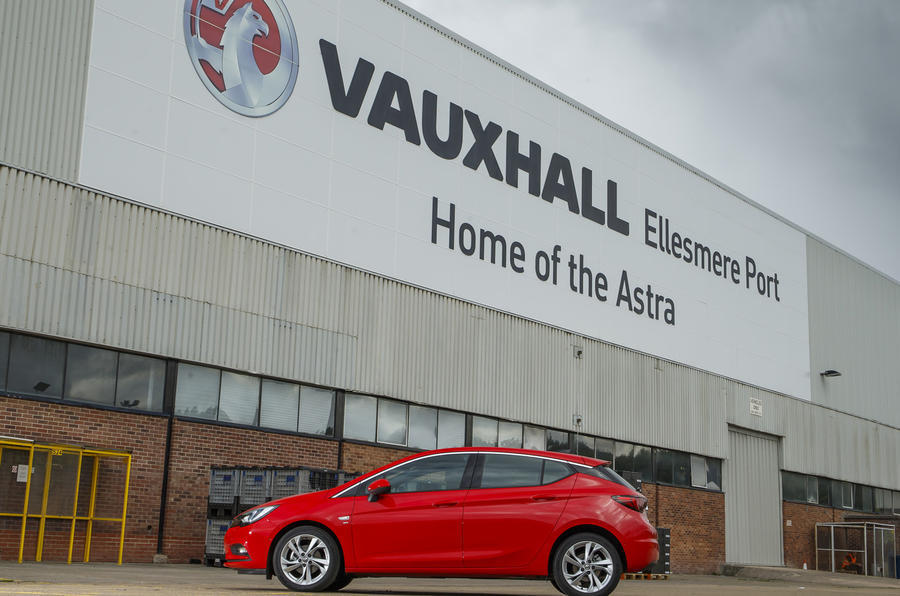 2019 Vauxhall Astra at Ellesmere Port