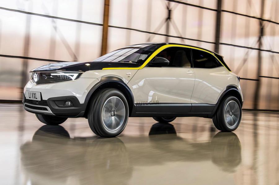 Vauxhall Mokka render