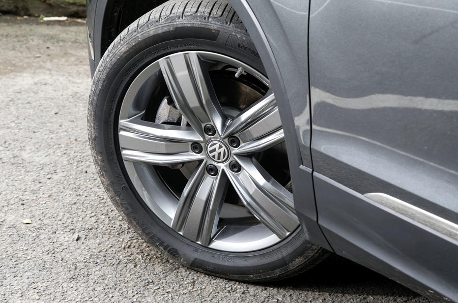 VW Tiguan wheel