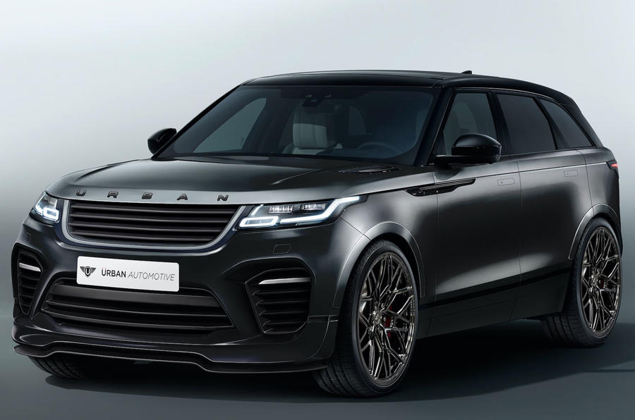 first range rover velar aftermarket kit on sale now autocar. Black Bedroom Furniture Sets. Home Design Ideas