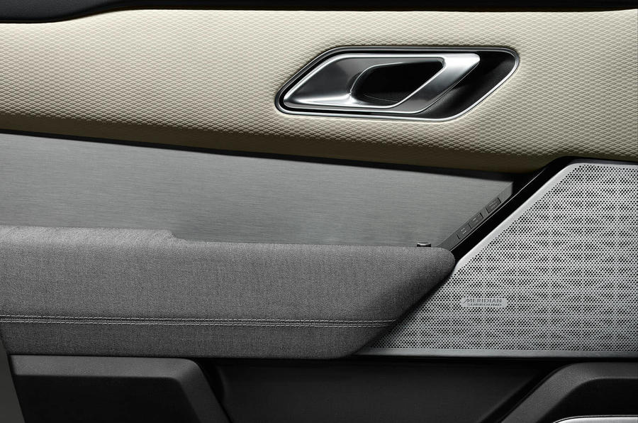 velar interior door handle