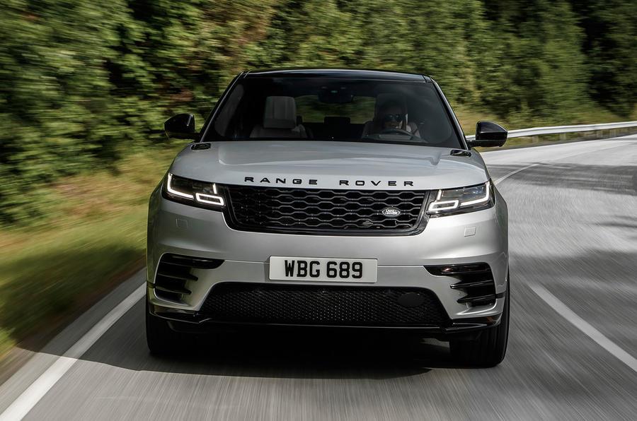 Range Rover Velar front end