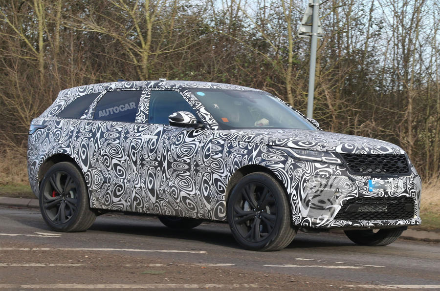 542bhp Range Rover Velar SVR due in October