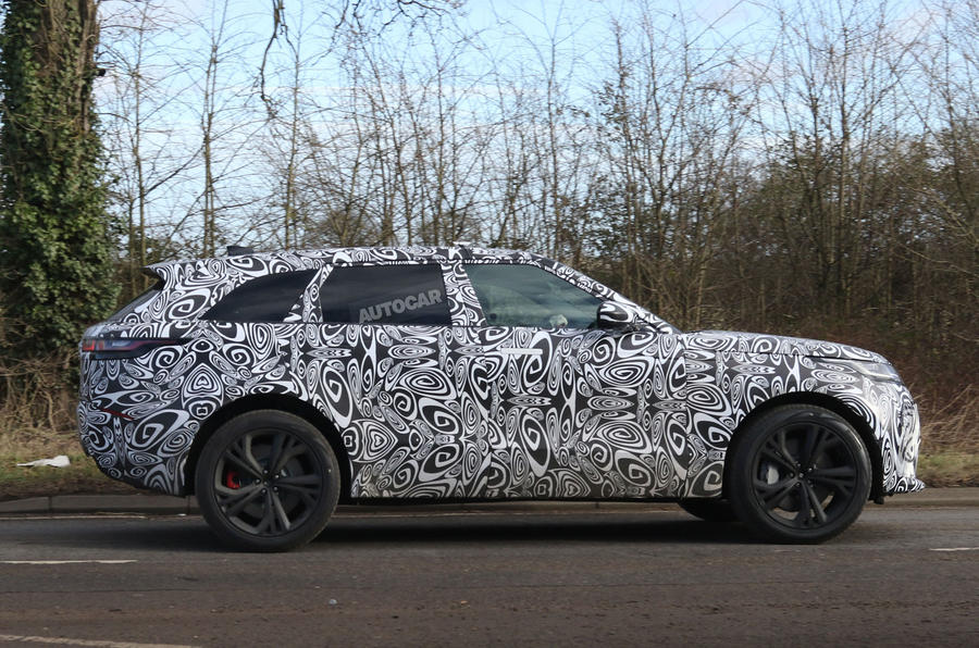 Range Rover Velar SVR due on roads this October with 542bhp