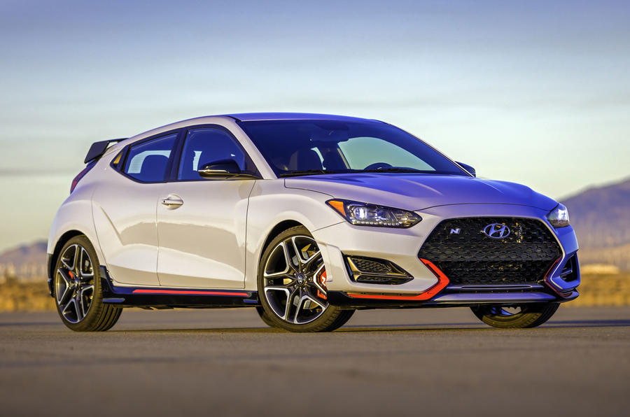 Hyundai Veloster N debuts with 275 horsepower