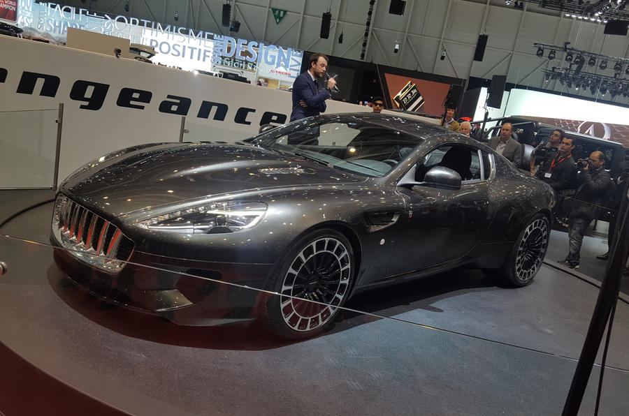 Excellent Kahn Vengeance  DB9based Sports Car Revealed In Geneva