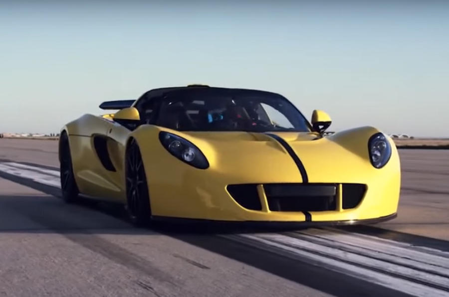 Hennessey Venom GT sets new 265.6mph top speed record | Autocar