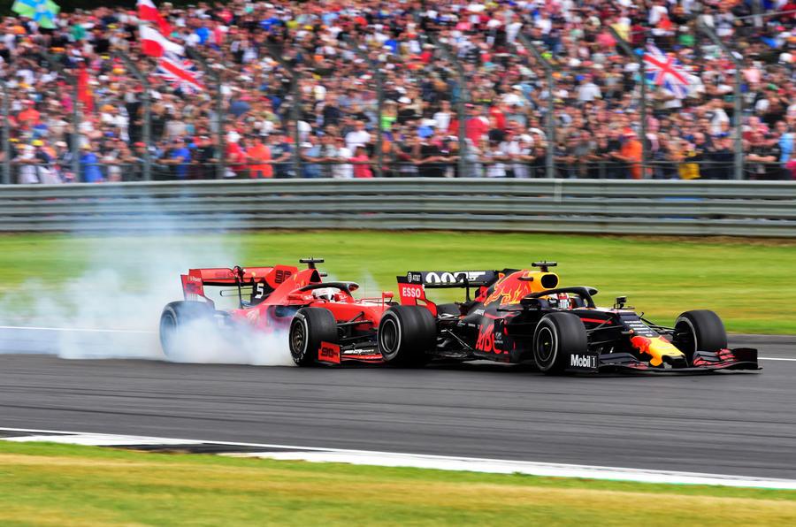 Vettel mistake