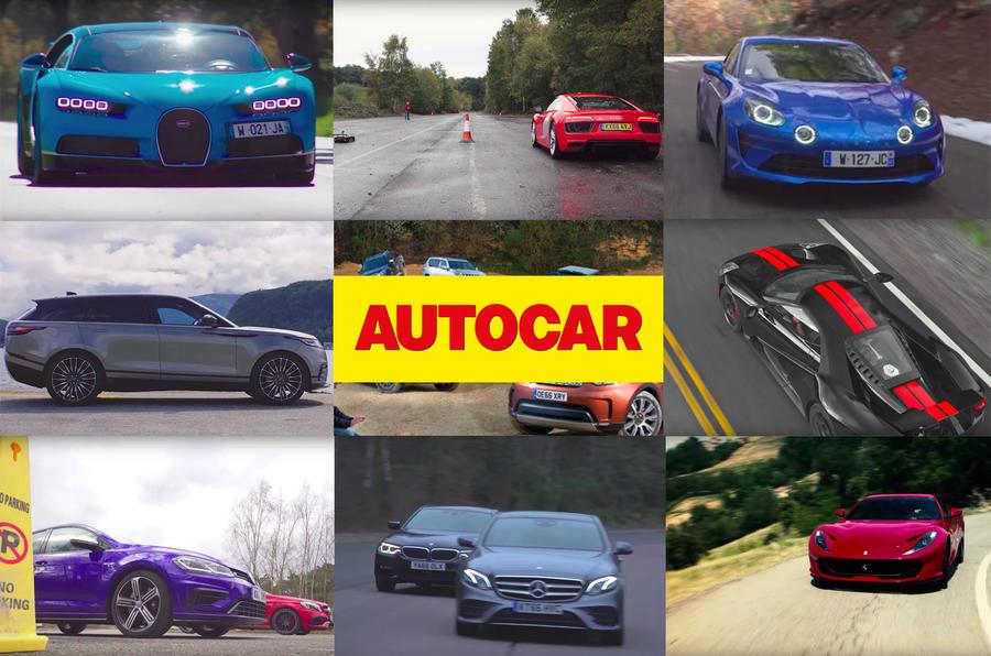 Top 10 Autocar videos of 2017
