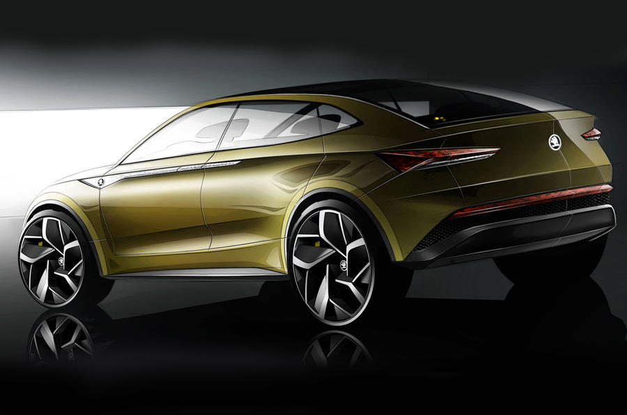 Skoda Vision E Concept Reveals Electric Future for Marque, New Styling Ideas