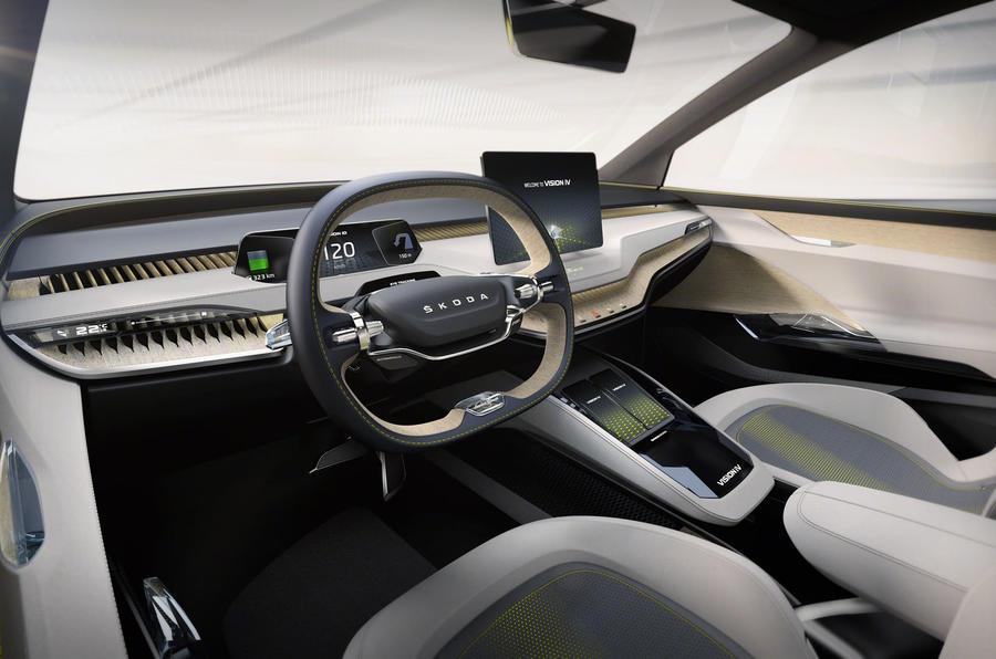 Skoda iV Vision concept - interior