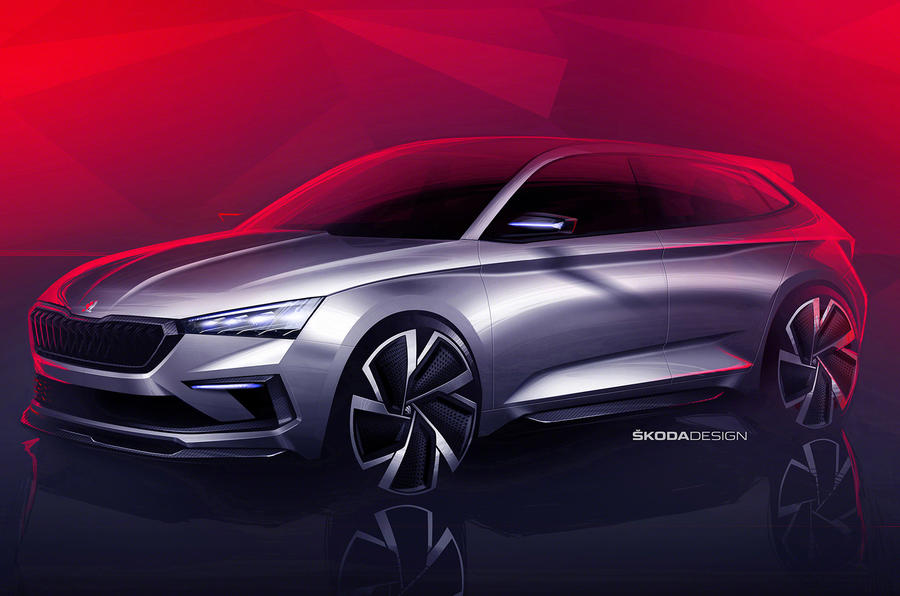 Skoda to reveal Vision RS concept at Paris motor show