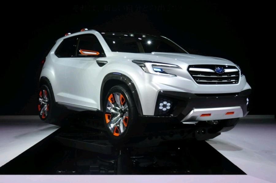 Updated Subaru Viziv Concept At Tokyo Motor Show Autocar