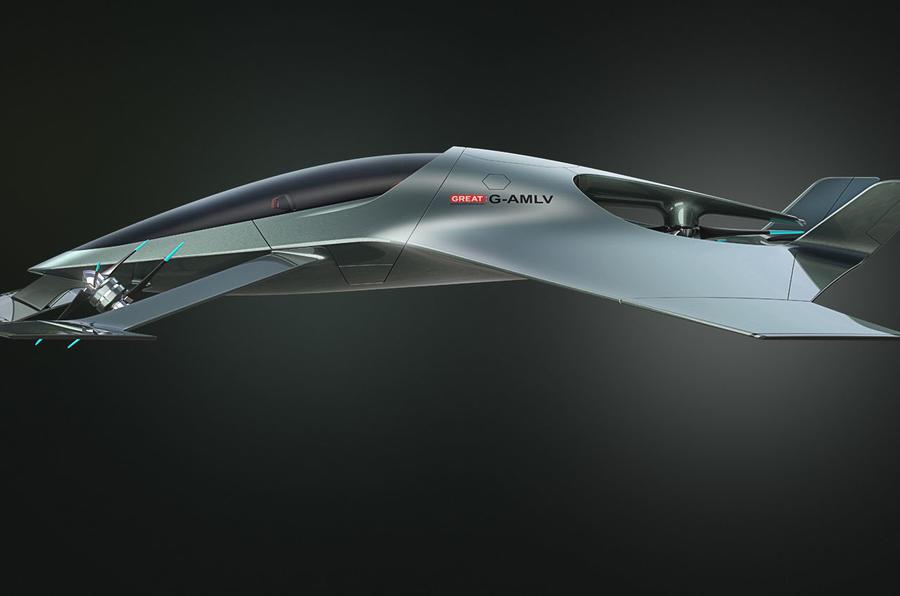 Aston Martin Volante Vision Concept
