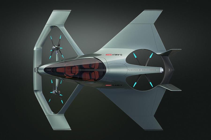 Aston Martin Volante Vision Concept Previews 2020