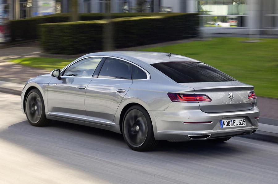 Volkswagen Arteon rear cornering