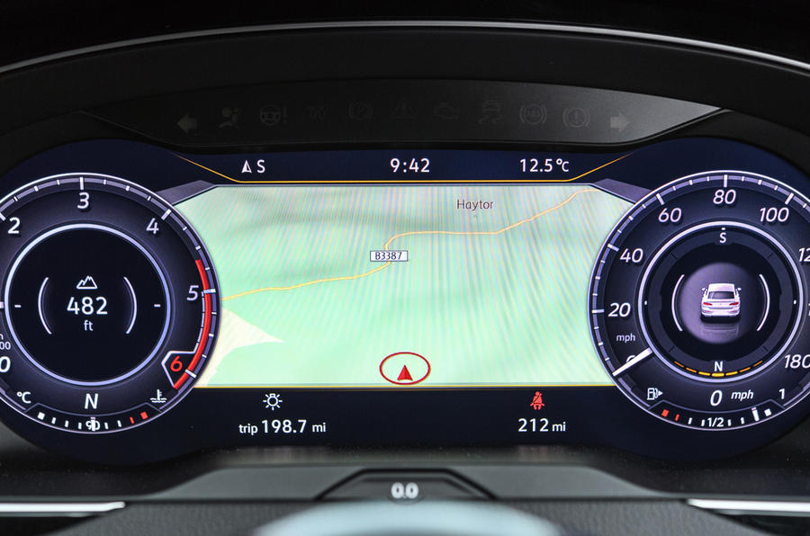 Volkswagen Arteon Active Info Display