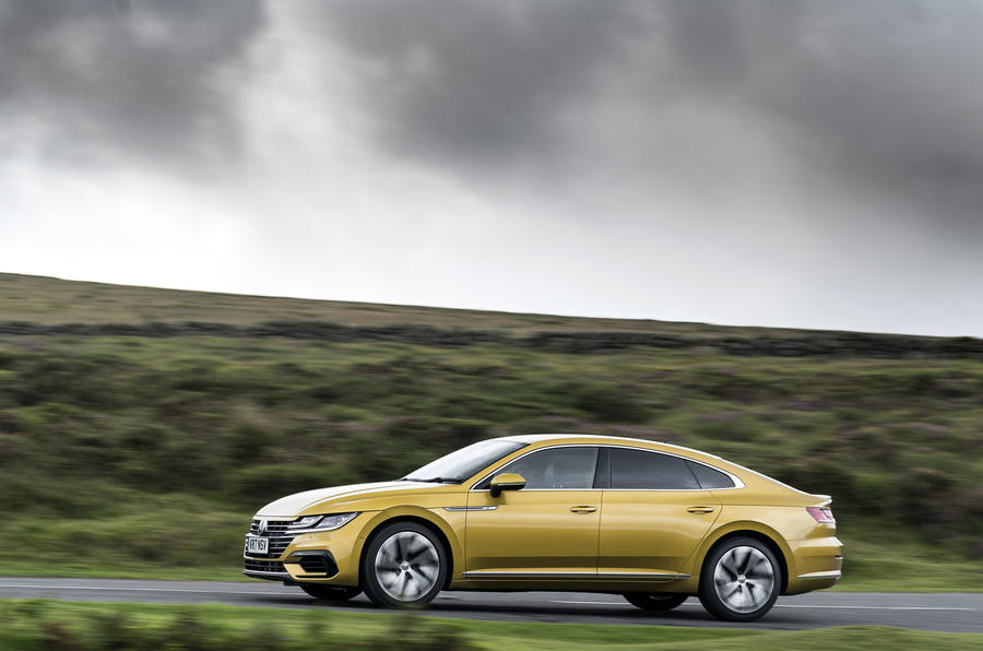 Volkswagen Arteon side profile