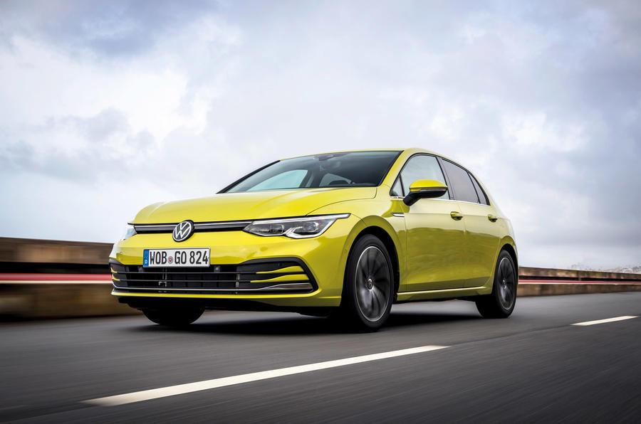Volkswagen Golf 2020 - hero front