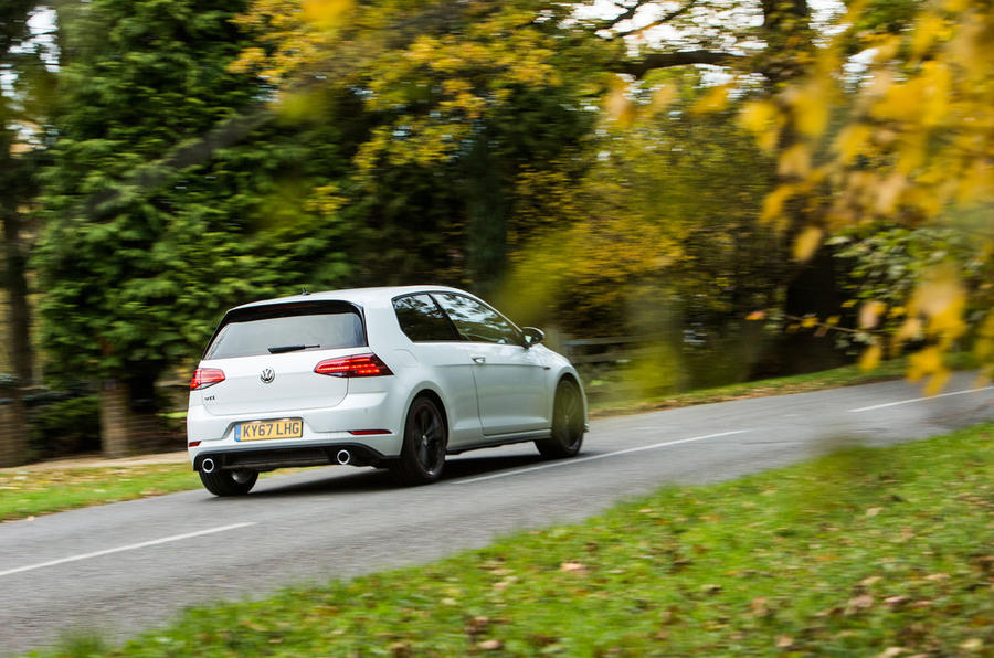 Volkswagen Golf GTI rear cornering
