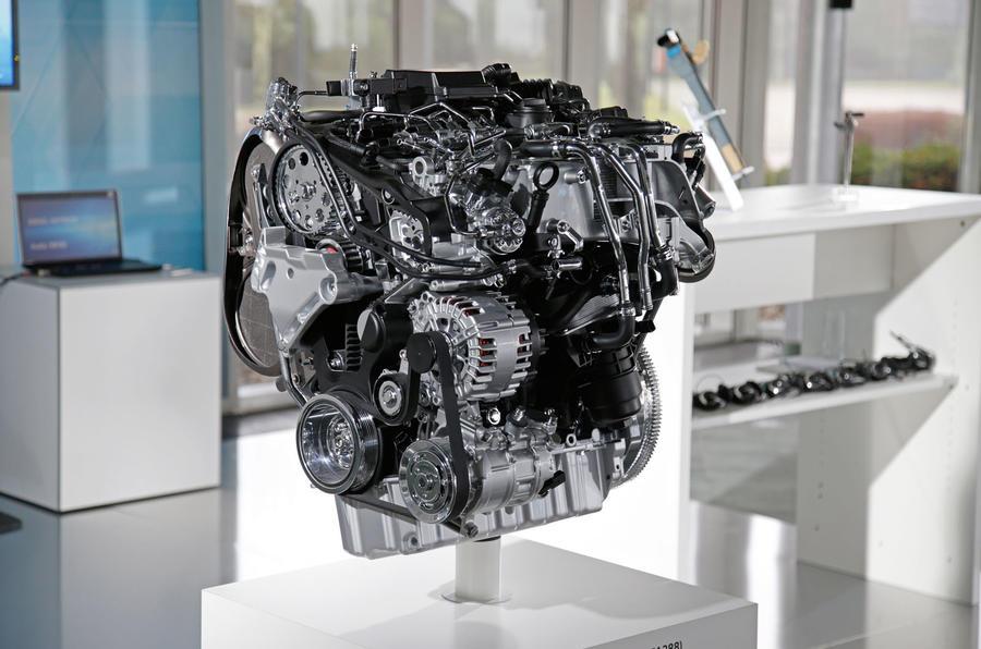 Volkswagen Golf MHEV 1.5 TSI engine