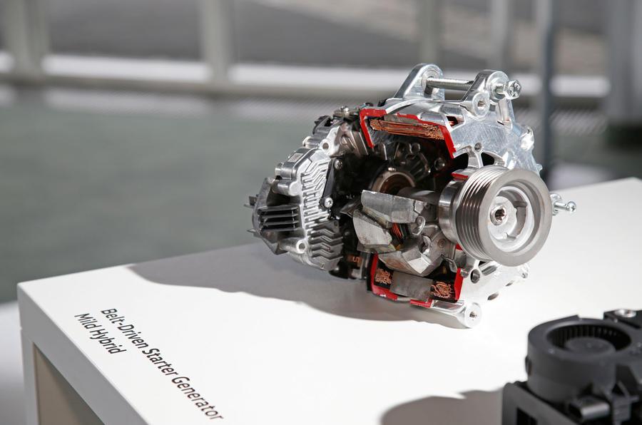 Volkswagen Golf MHEV mild hybrid