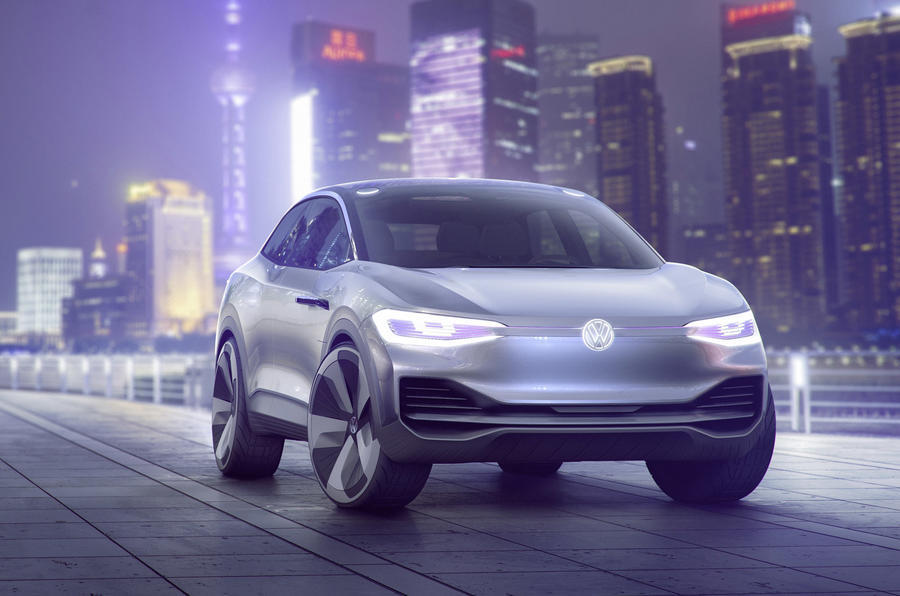 The Volkswagen ID Crozz is the firm's latest electric concept car